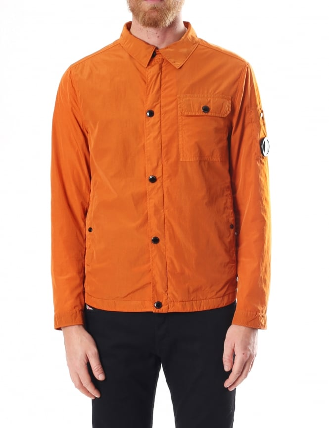 C.P. Company Garment Dyed Men's Lens Overshirt