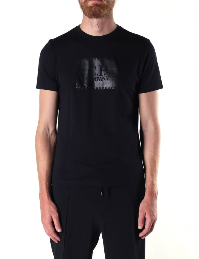 C.P. Company Men's Label Print Tee