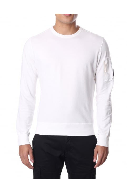 Men's Lens Crew Neck Sweat Top