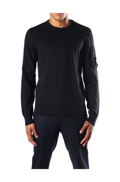 Men's Lens Detail Sweat Top