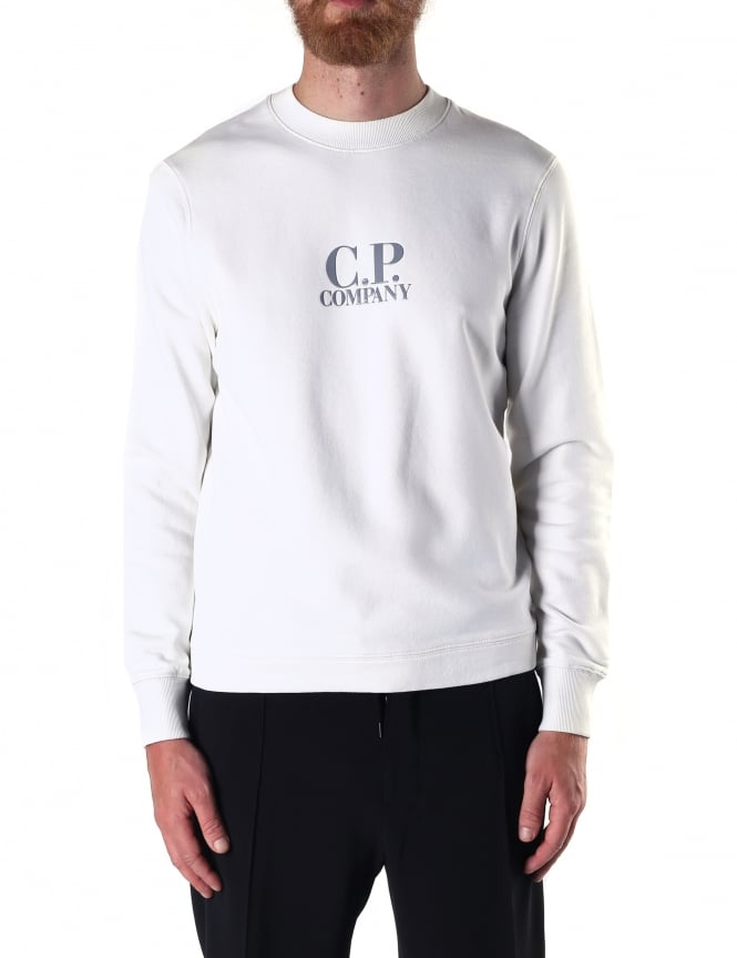 C.P. Company Men's Logo Crew Neck Sweat Top