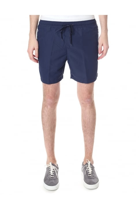Men's Logo Tape Swim Shorts