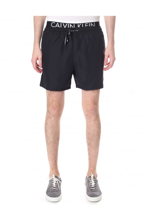 Men's Logo Waistband Swim Shorts