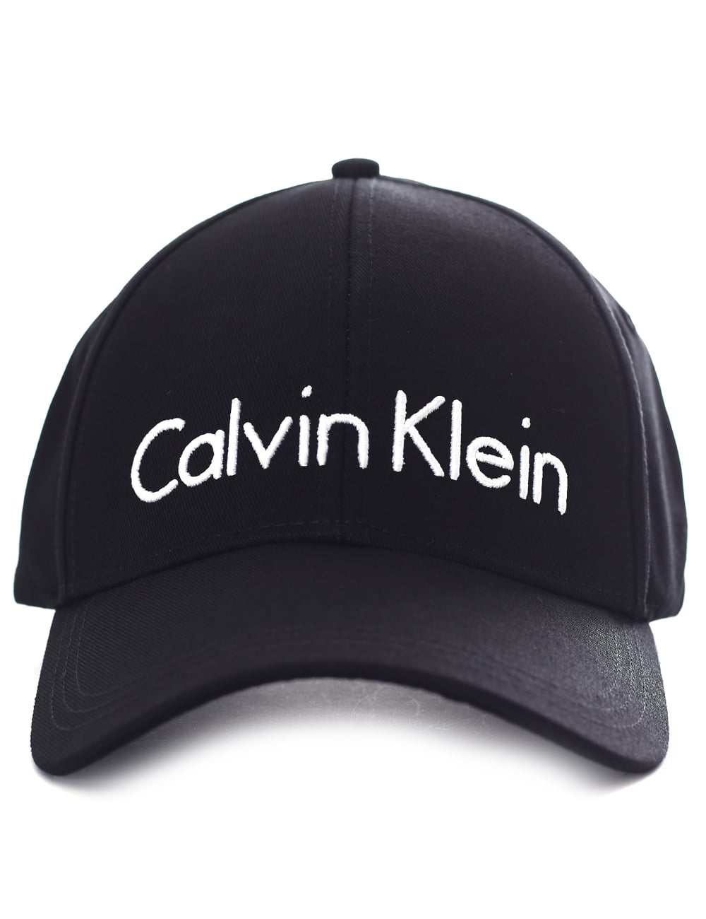 Calvin Klein Women s Logo Baseball Cap Black 6a1d1d2beee