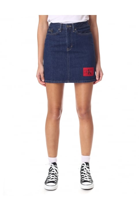 Women's Mini Denim Skirt