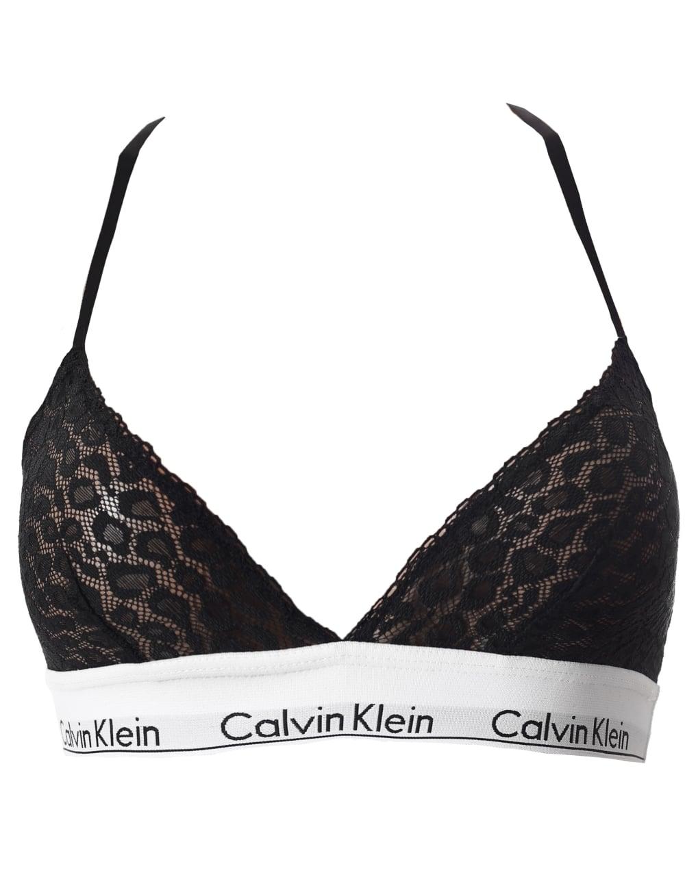 7c5b64582e Calvin Klein Women s Unlined Lace Triangle Bra