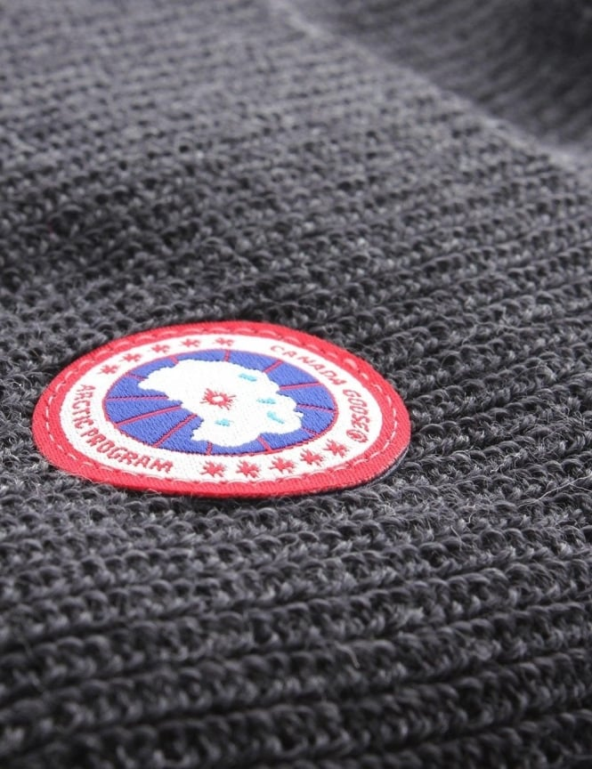6f7ce2cfa Canada Goose Merino Wool Men's Watch Beanie Graphite