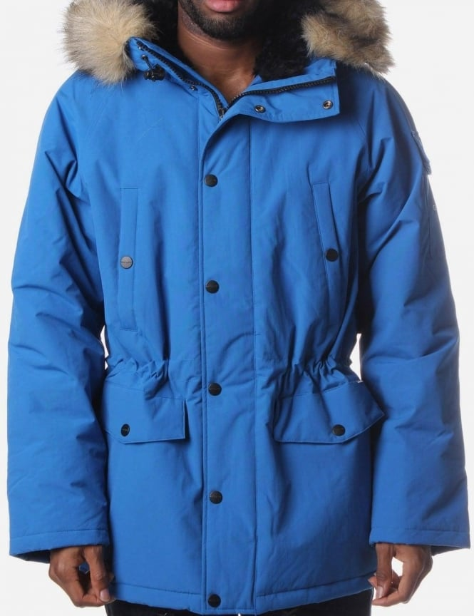Men's Parka Coat Imperial Blue