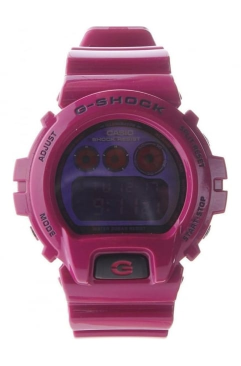 Digital Colour G Shock Men's Watch Raspberry