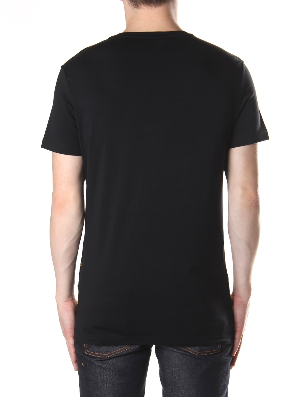 512f982e Versace Jeans Chain And Teeth Men's Crew Neck Tee