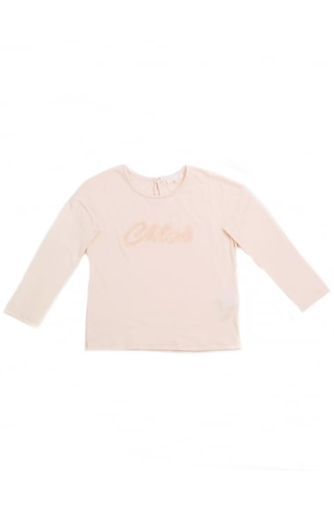 Girls Logo Long Sleeve Tee