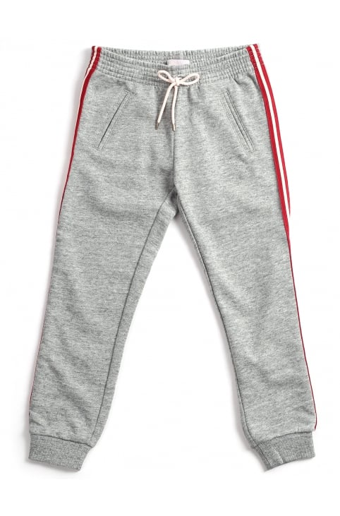 Girls Striped Side Tracksuit Pants