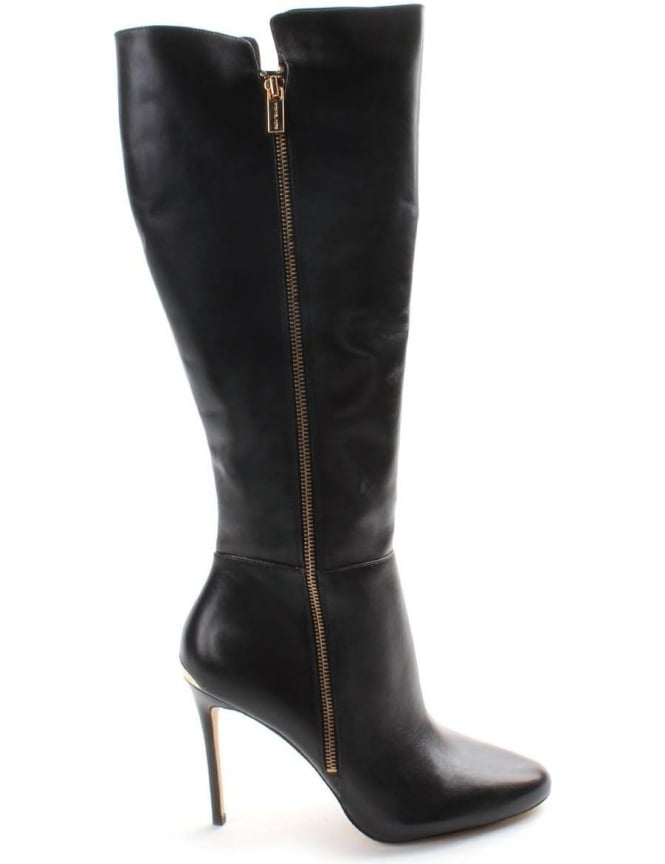 modern and elegant in fashion durable in use good Michael Kors Clara Women's Stiletto heel Boots Black