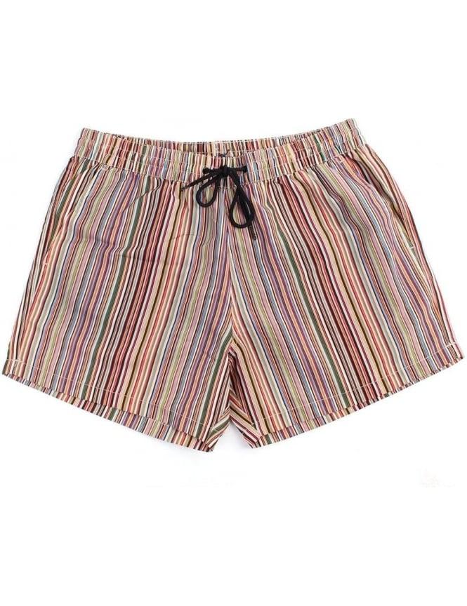 01029dda38868 Paul Smith Classic Multi Stripe Men's Swim Short Multi