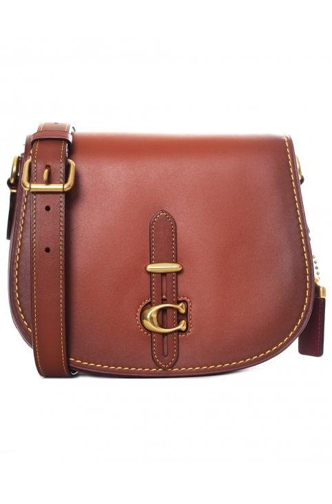 cc96e069e0 Glovetan Leather Saddle Bag Update. Coach Women s Glovetan Leather Saddle  Bag Update 1941 ...