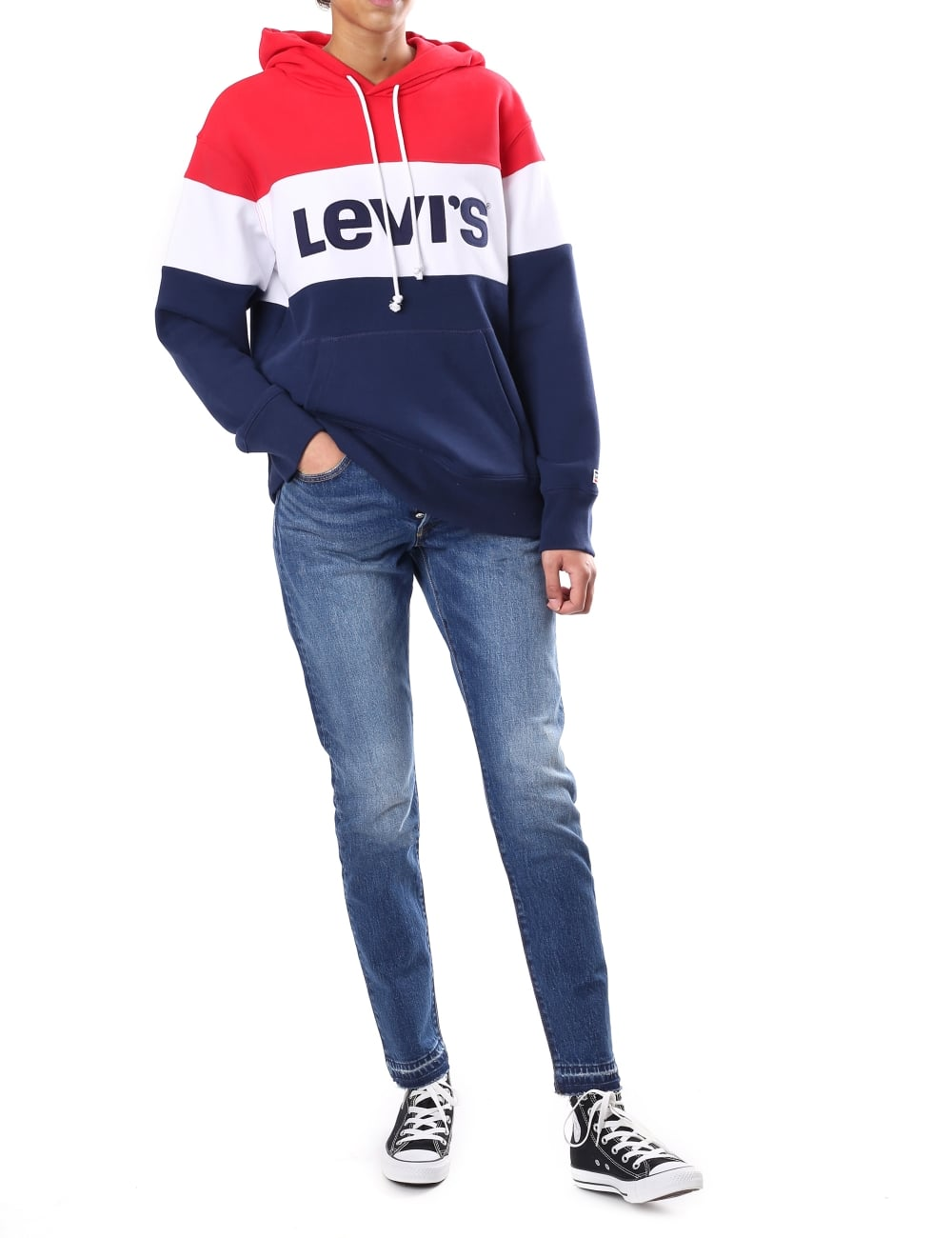 6d7dee50 Levi's Colour Block Women's Sport Hoodie