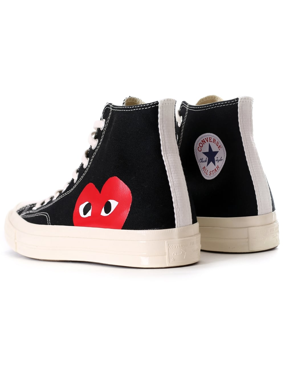 choose official hoard as a rare commodity modern and elegant in fashion Comme Des Garçons Play Men's X Converse Chuck Taylor Hi