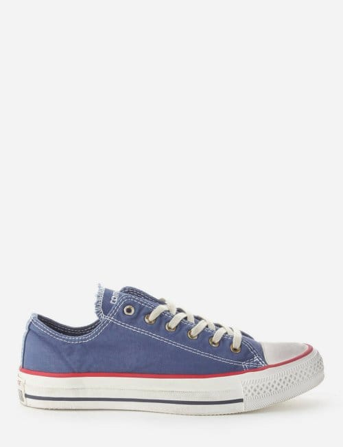 a88d316eed3e8b Chuck Taylor Women  039 s OX Trainer in Washed Blue
