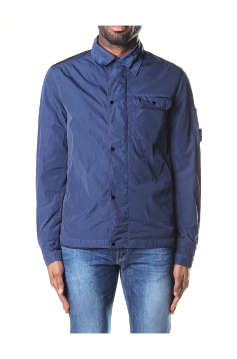 Men's Zip Through Lens Overshirt
