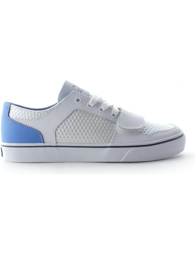Creative Recreation Cesario Lo Men's Lace Up Trainer White/Blue