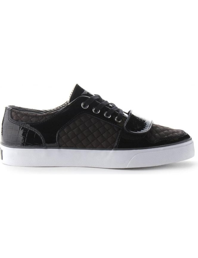 Creative Recreation Cesario Men's Velcro Strap Trainer Black/White