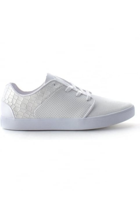 Santos Men's Lace Up Trainers White