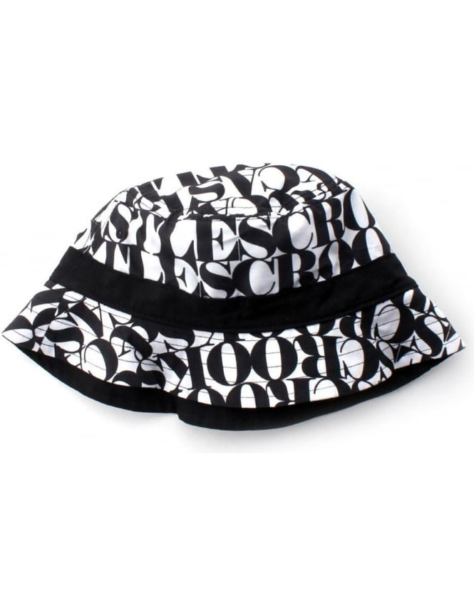 Crooks   Castles Headliner Men s Reversible Bucket Hat White Black 65cc9082c1a2