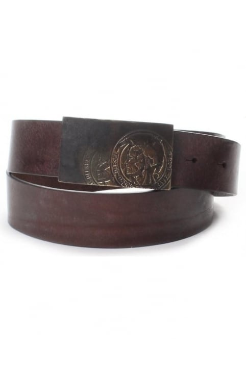B-Warrior Men's Leather Belt