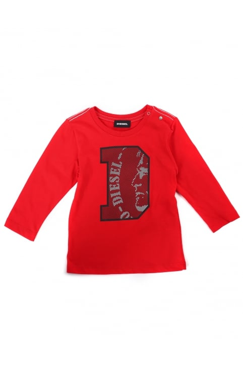 Baby Boy's Turib Crew Neck Long Sleeve Tee