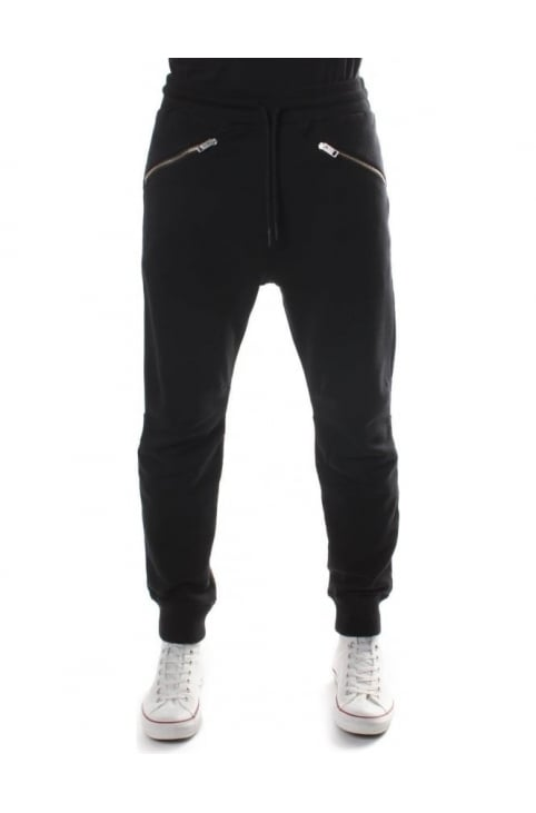 Biker Zip Men's Sweat Pants