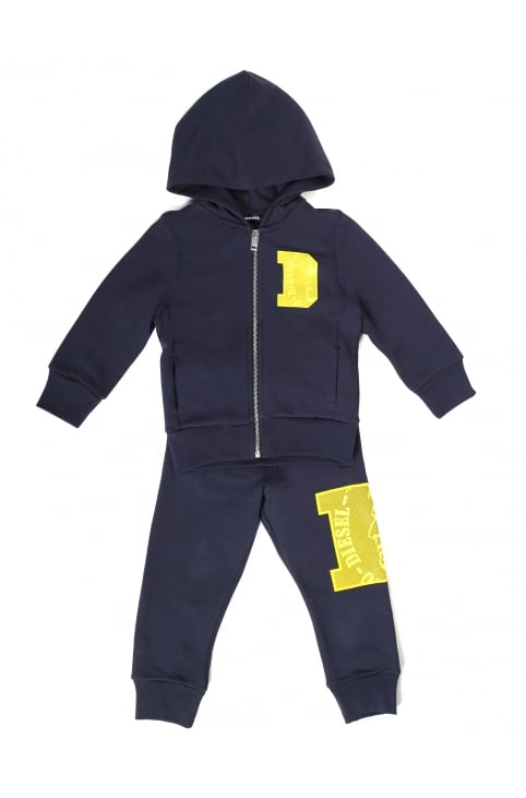 Boy's Solfik-Set Zip Through Hooded Track Suit