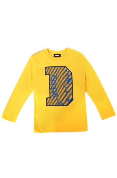 Boy's Turik Crew Neck Long Sleeve Tee