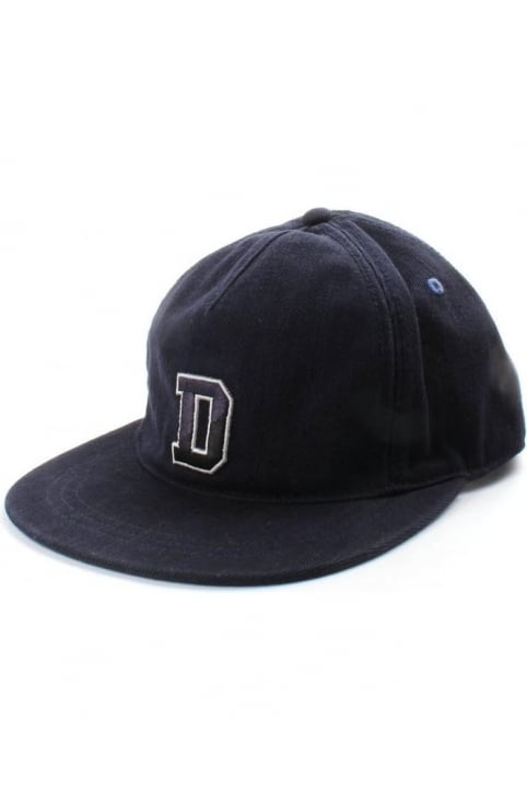 Cadas 'D' Logo Men's Strap Back Hat Navy