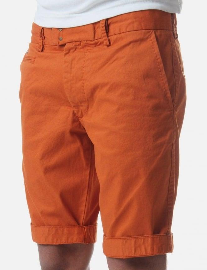 Tight-B Men's Chino Shorts Orange