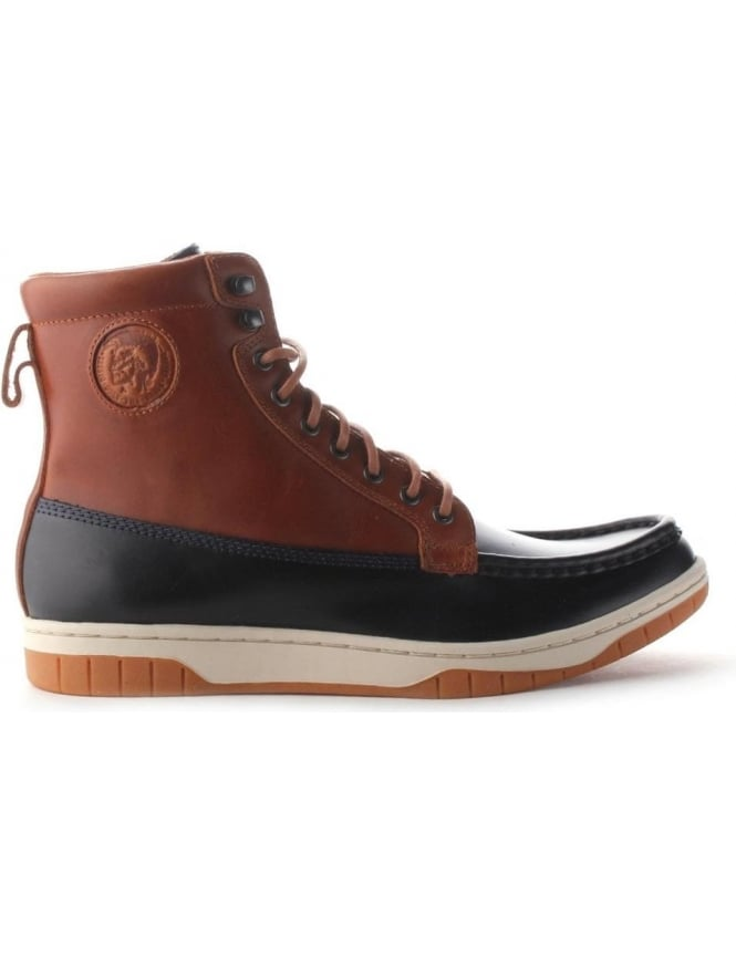 Diesel Club Tatra Men's Skeaker Boot Brown