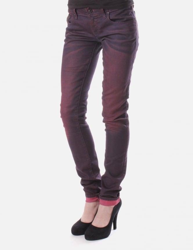 56a076c2 Grupee 601F Women's Jean Purple