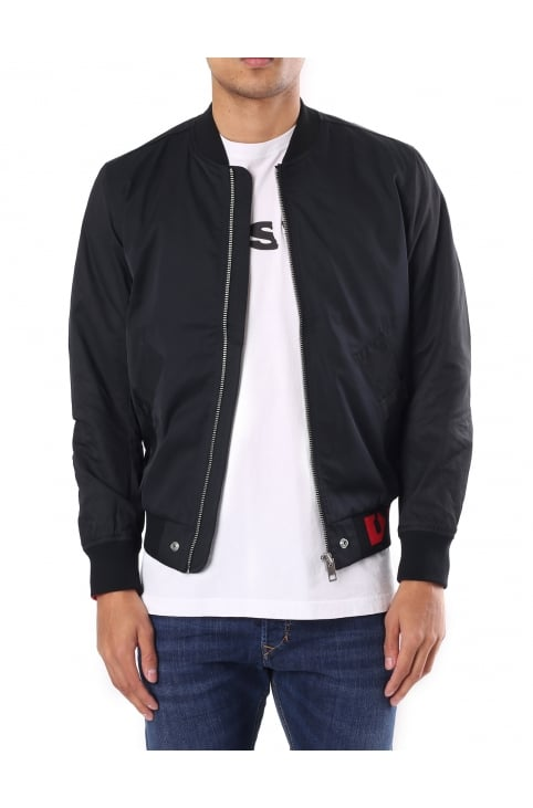 J-Gate Men's Nylon Bomber Jacket
