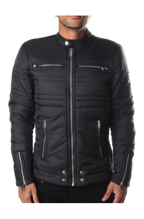 J-Neverzip Men's racer Jacket