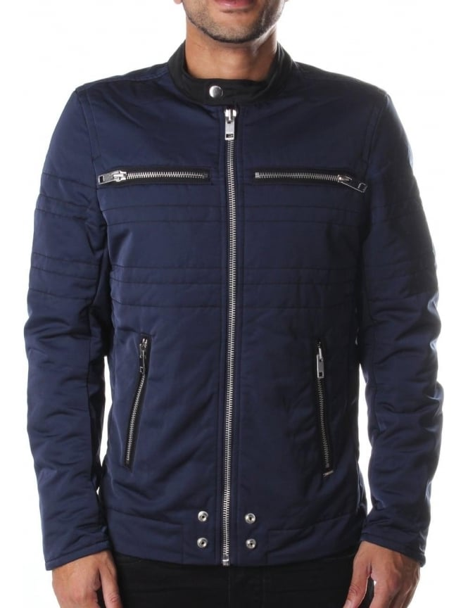 Diesel J-Neverzip Men's Racer Jacket