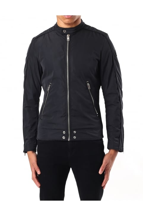 J-Quad Men's Nylon Biker Jacket