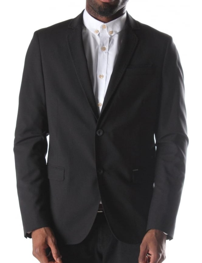 Diesel J-Tarchi Men's Blazer Jacket Black