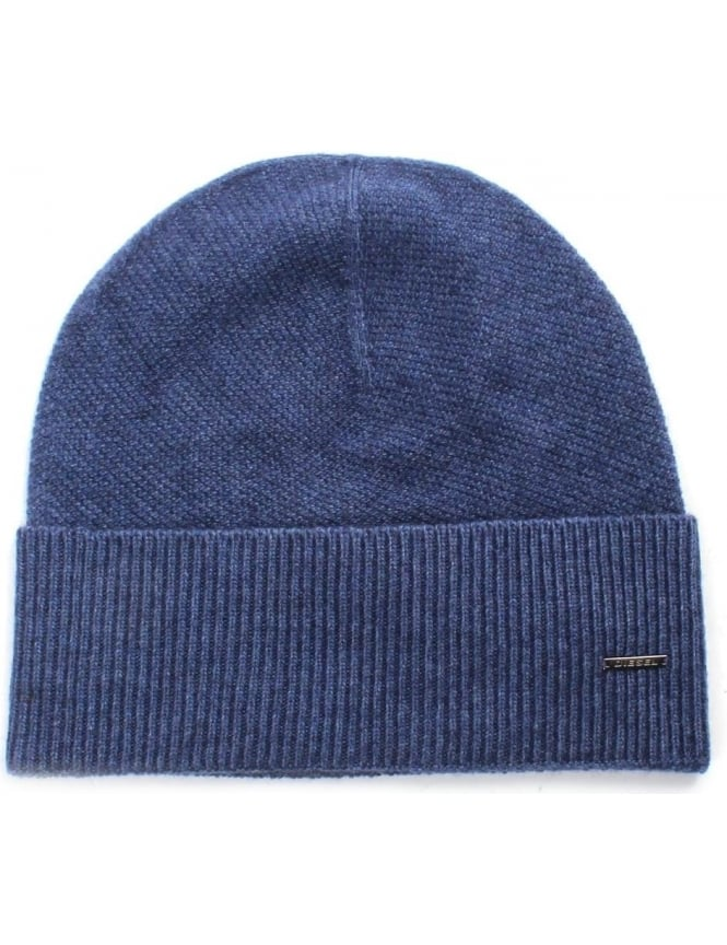 Diesel K.Baty Men's Knitted Ribbed Beanie