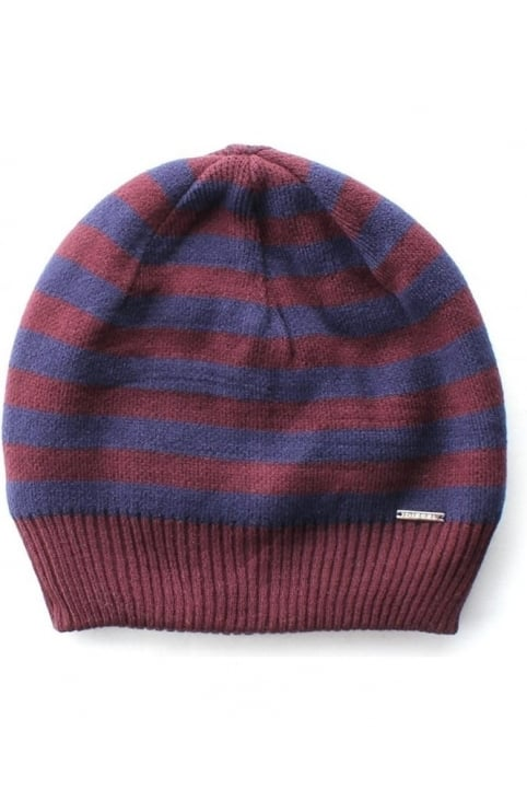 K-Grofys Men's Striped Beanie Hat