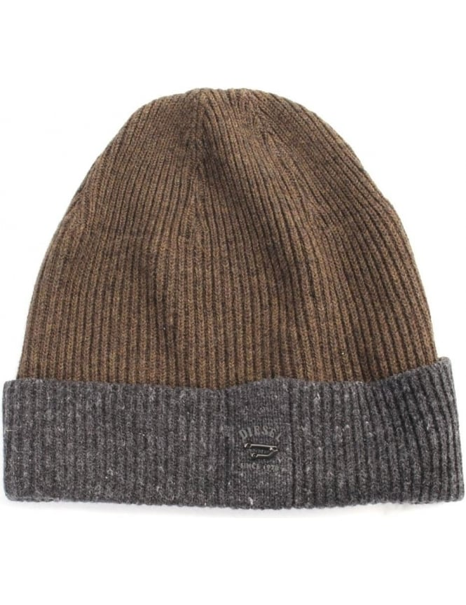 Diesel K-senta-B Men's Knitted Beanie Hat