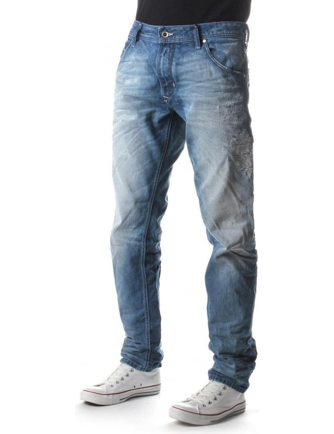 Diesel Krayver Men's 840V Jean Denim