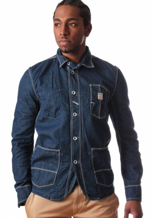 977c615a286 Diesel Men s Denim Shirt Jacket Indigo - Men from Diffusion UK