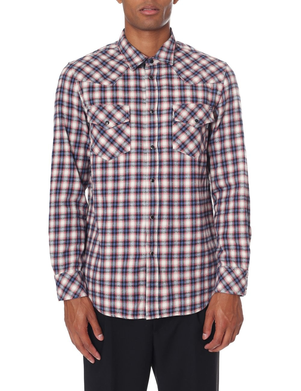 5cee89924a Diesel Men s Classic Long Sleeve Western Shirt