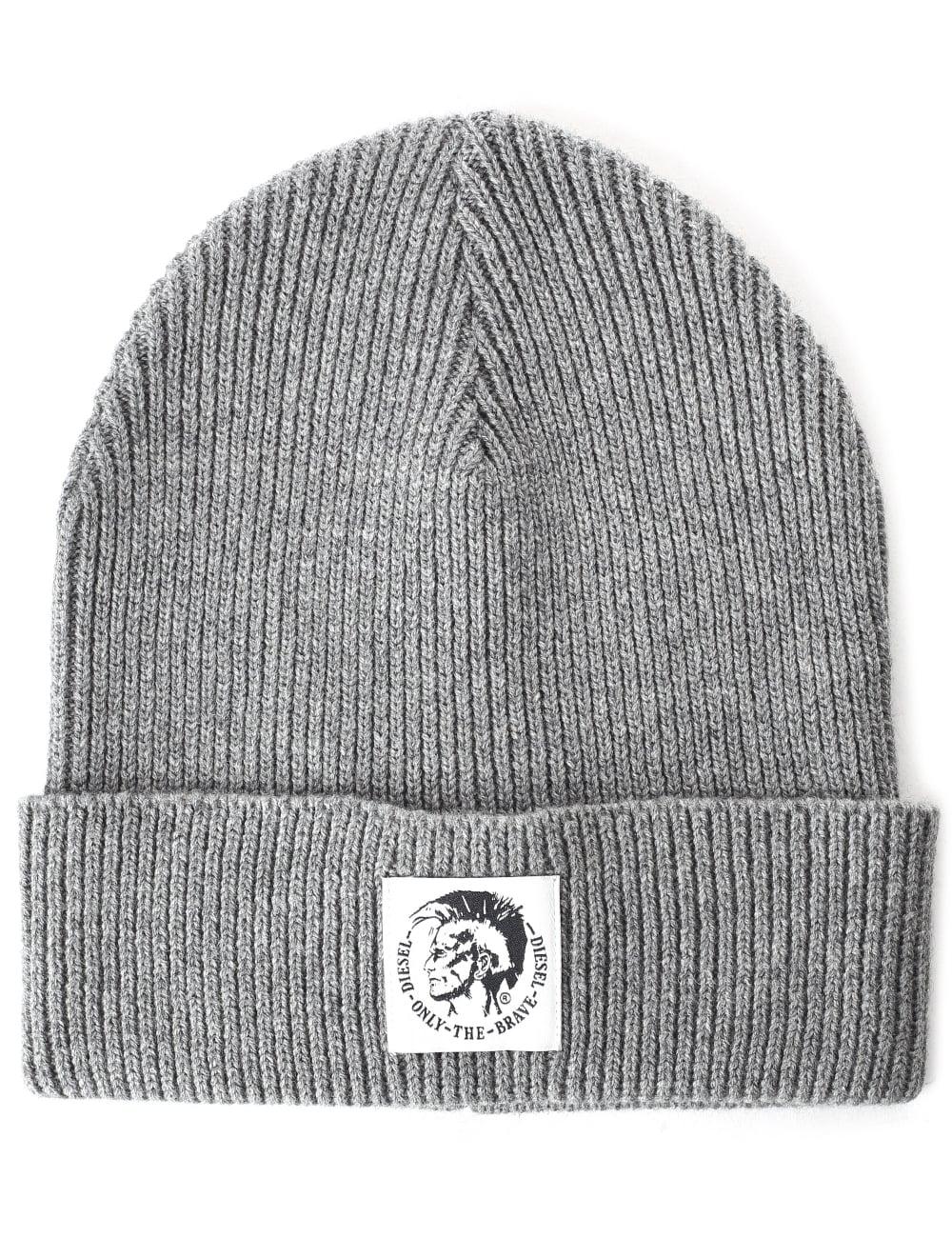 Diesel Men s K-Coder Mohawk Logo Beanie Hat 59994f00918