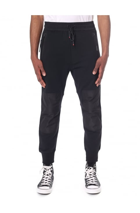 Men's P-Grand Nylon Patch Detail Sweat Pants