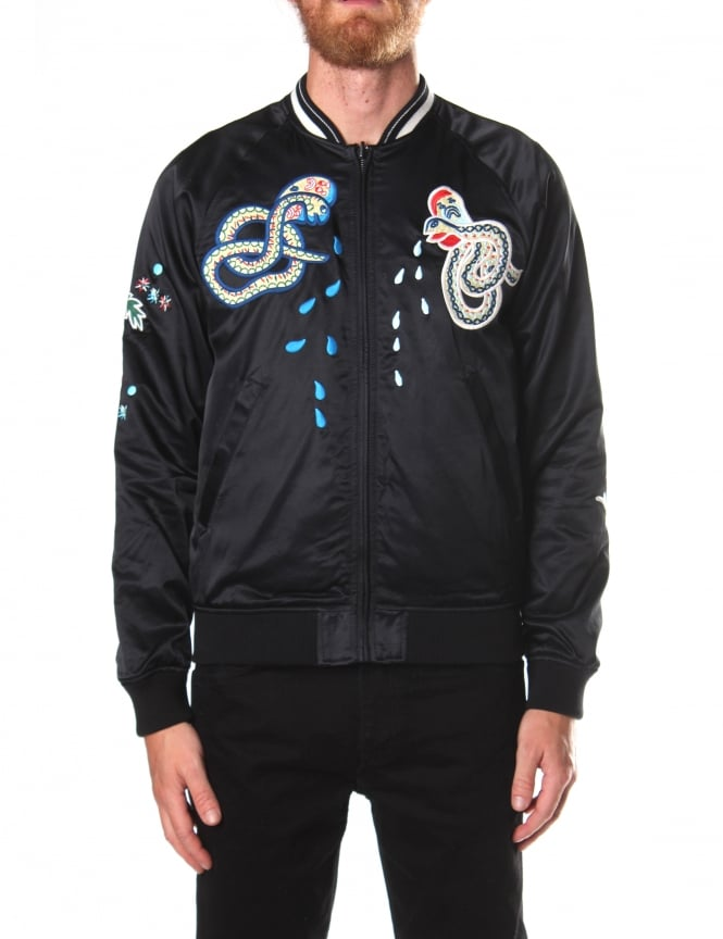 Diesel Men's Reversible Varsity Jacket